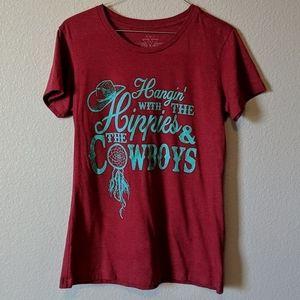 Red fun t-shirt